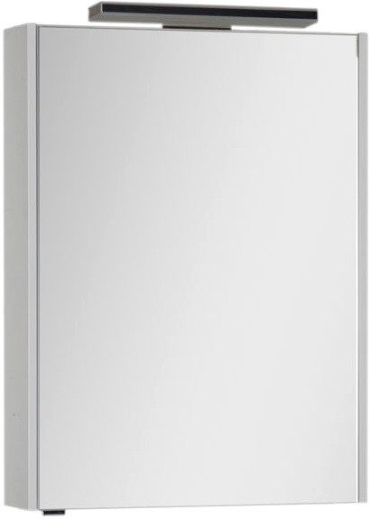 Зеркальный шкаф 63,2х85 см белый Aquanet Франка 00183043 зеркальный шкаф 55х88 1 см белый aquanet стайл 00181511