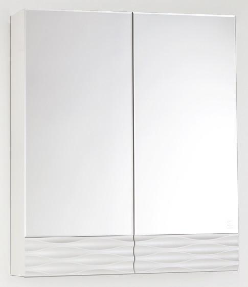 Зеркальный шкаф 60х70 см техно платина Style Line Ассоль LC-00000326