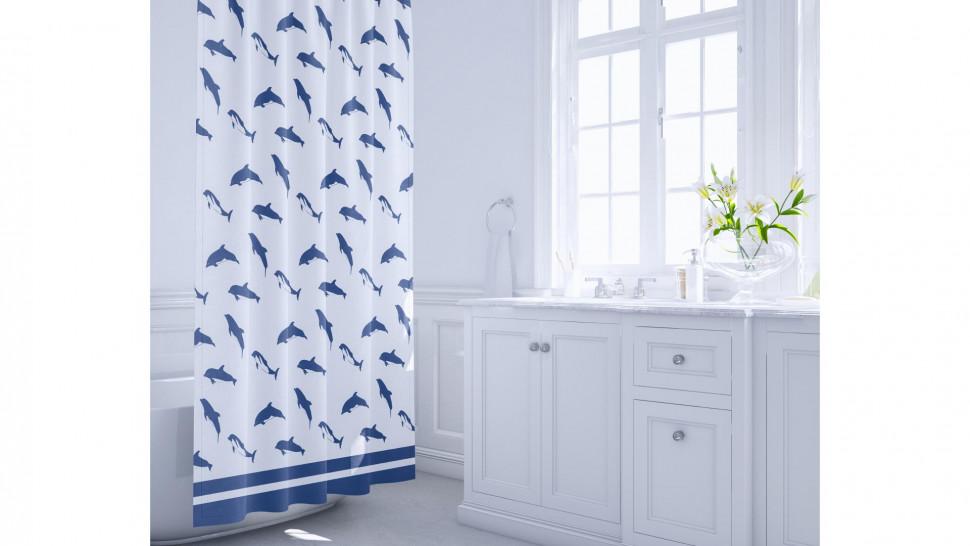 Штора для ванной комнаты Fixsen Dolphins FX-1502