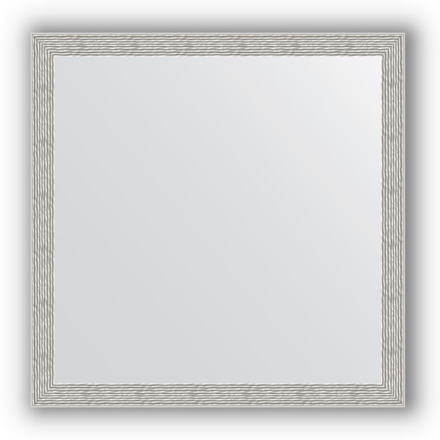 Зеркало 71х71 см волна алюминий Evoform Definite BY 3230 зеркало 80х80 см волна хром evoform definite by 3249