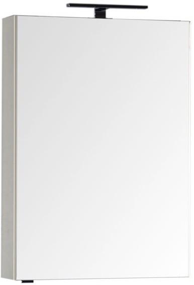 Зеркальный шкаф 59,6х85 см кремовый Aquanet Эвора 00184006
