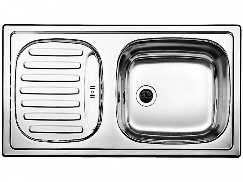 Кухонная мойка Blanco Flex mini Матовая сталь 511918 мойка blanco flex mini 511918 размер шхд 78см х 43 5см