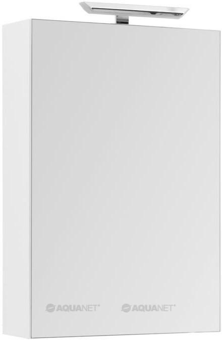 Зеркальный шкаф 60х87,3 см с белый R Aquanet Йорк 00202087 зеркальный шкаф 65х88 1 см белый aquanet стайл 00179922