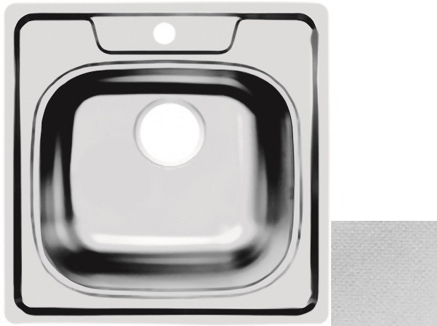 Кухонная мойка декоративная сталь Ukinox Комфорт COL503.503 -GT6K 0C ukinox fad 760 470 gt6k l