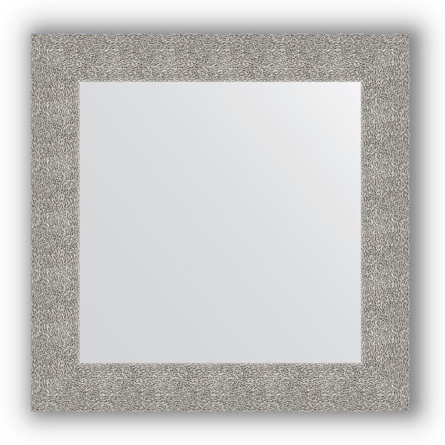 Фото - Зеркало 70х70 см чеканка серебряная Evoform Definite BY 3151 зеркало 70х70 см чеканка серебряная evoform definite by 3151