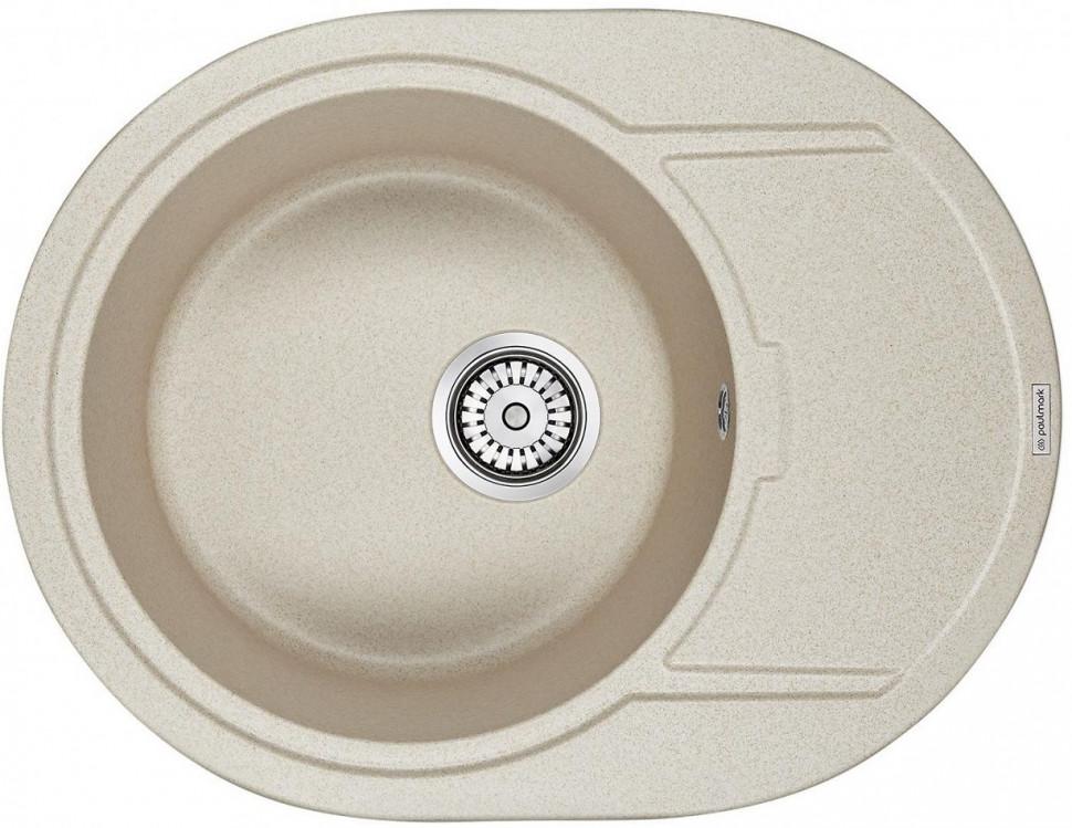 Кухонная мойка Paulmark Oval бежевый PM316502-BE