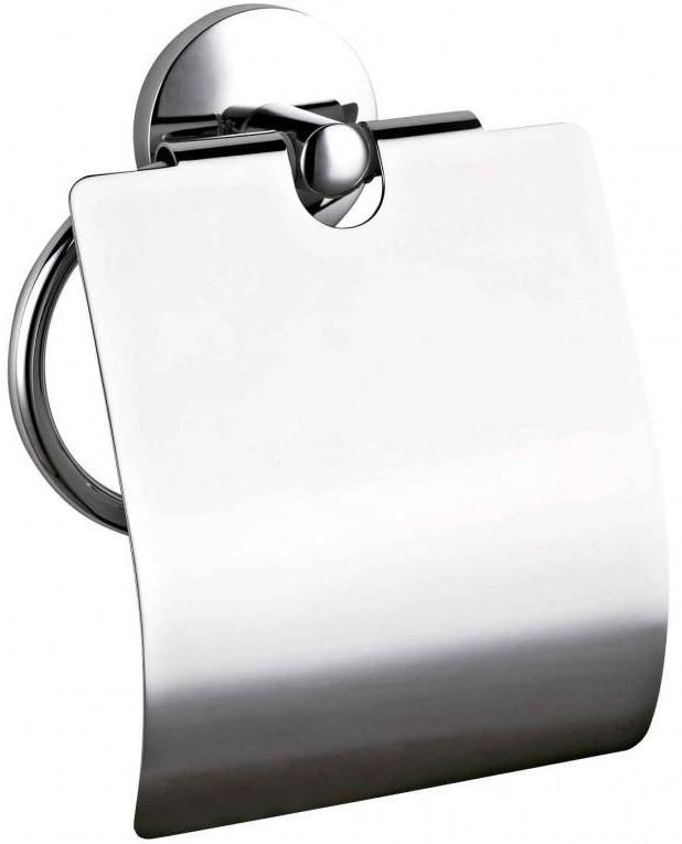Держатель туалетной бумаги хром Nofer Monaco 16374.B стильное круглое вешало nofer monaco 16377 в