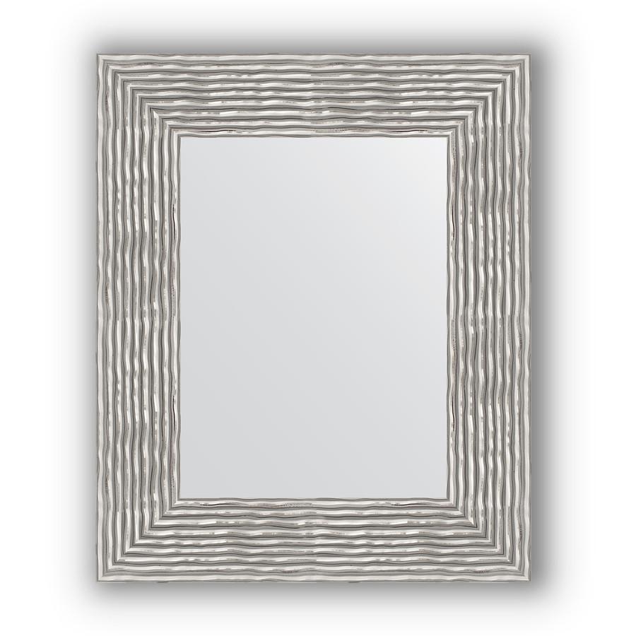 Зеркало 46х56 см волна хром Evoform Definite BY 3025 зеркало 80х80 см волна хром evoform definite by 3249