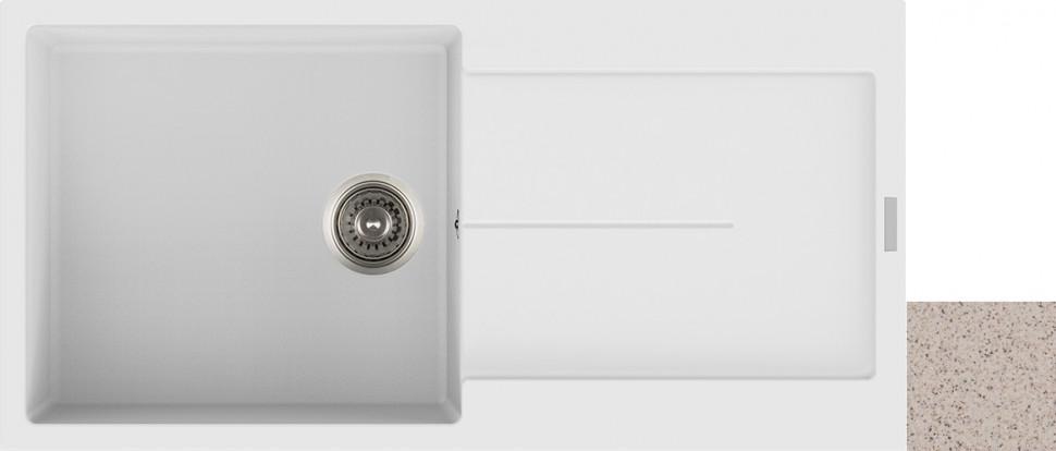 Кухонная мойка терра Longran Enigma ENG1000.500 - 38 кухонная мойка drgans габи терра