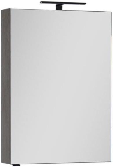 Зеркальный шкаф 59,6х85 см дуб антик Aquanet Эвора 00182996