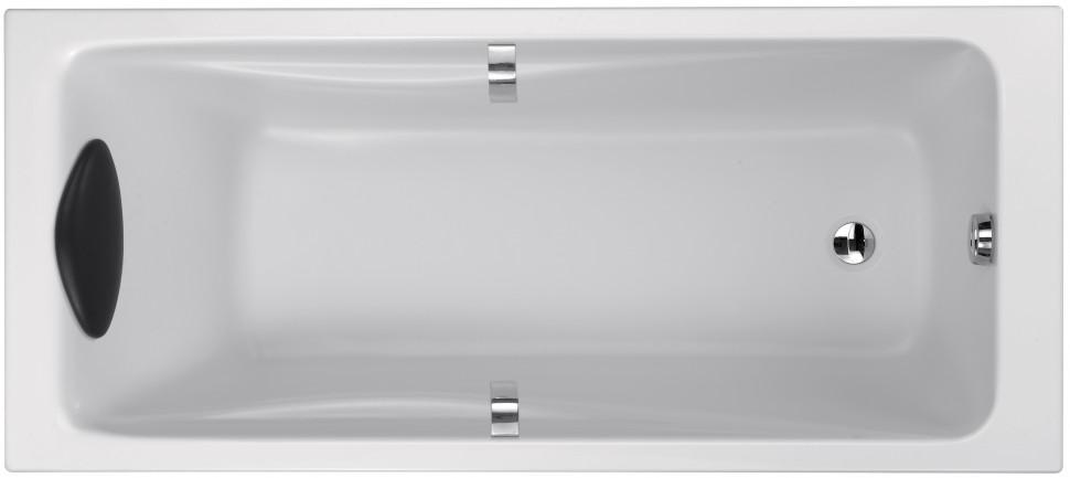 Акриловая ванна 169,7х70 см Jacob Delafon Odeon Up E6080RU-00 ванна из искусственного камня jacob delafon elite 190x90 с щелевидным переливом e6d033 00 без гидромассажа