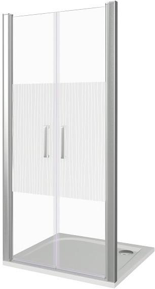 Душевая дверь 100 см Good Door Pandora SD-100-T-CH прозрачный с рисунком modern simple fashion mechanical mute split interior door locks black bedroom kitchen bookroom solid wooden door handle locks