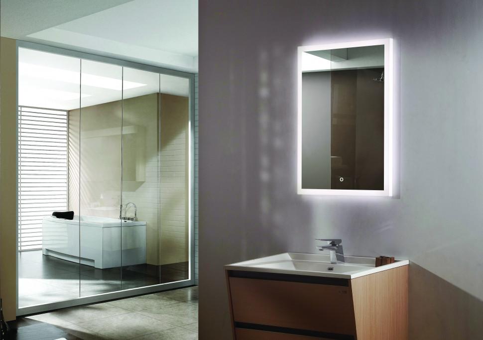 Зеркало с подсветкой 60х80 см Esbano ES-2542HD