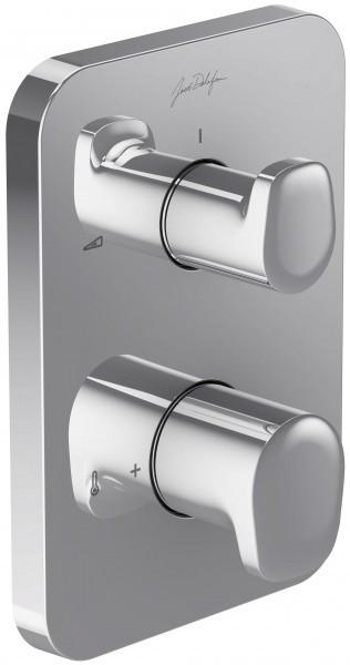 Термостат для ванны Jacob Delafon Modulo E98730-CP встраиваемый переключатель на 3 выхода jacob delafon modulo e98734 cp