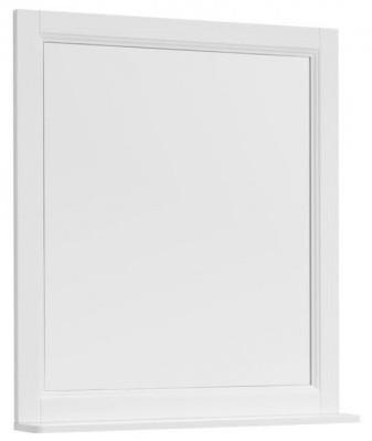 Зеркало 78х89,5 см белый матовый Aquanet Бостон 00209676 премьер бостон 1100 2 белый зеркало зеркало