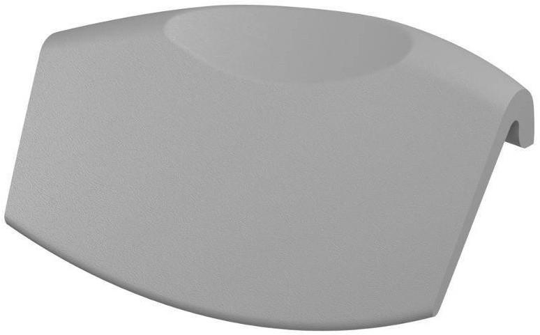 Фото - Подголовник для ванны серебристый Riho AH03115 подголовник для ванны черный riho ah07110