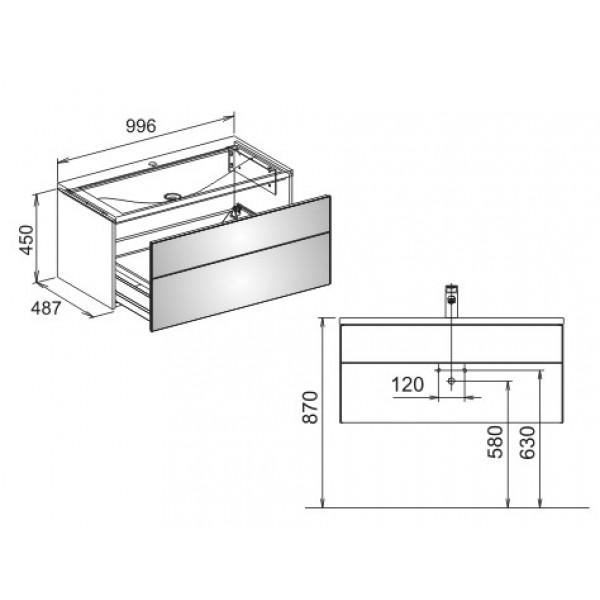99 6 keuco royal reflex. Black Bedroom Furniture Sets. Home Design Ideas