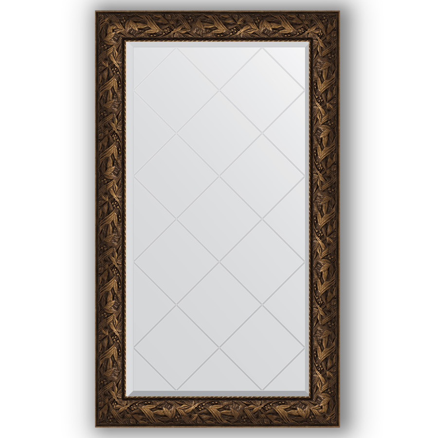 Зеркало 79х133 см византия бронза Evoform Exclusive-G BY 4244