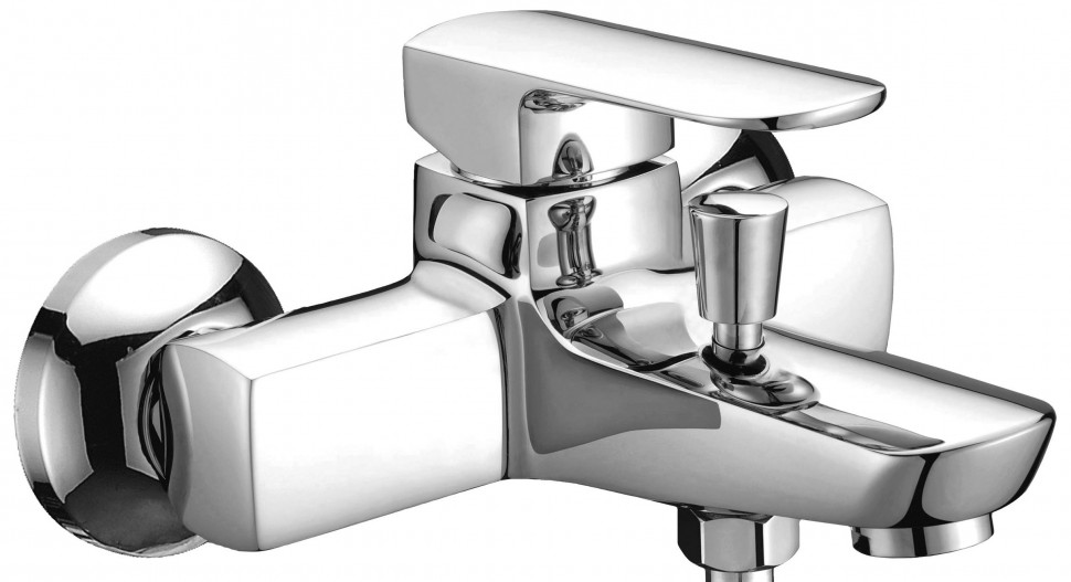 Смеситель для ванны Elghansa Scarlett Chrome 2322225 смеситель для ванны коллекция termo 6700857 однорычажный хром elghansa эльганза