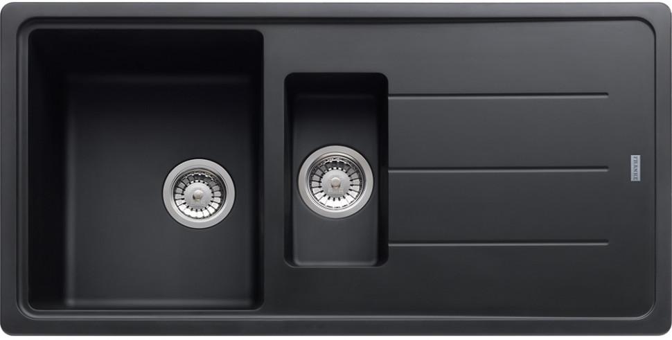 Кухонная мойка Franke Basis BFG 651 графит 114.0259.949 franke bfg 651 vanilla