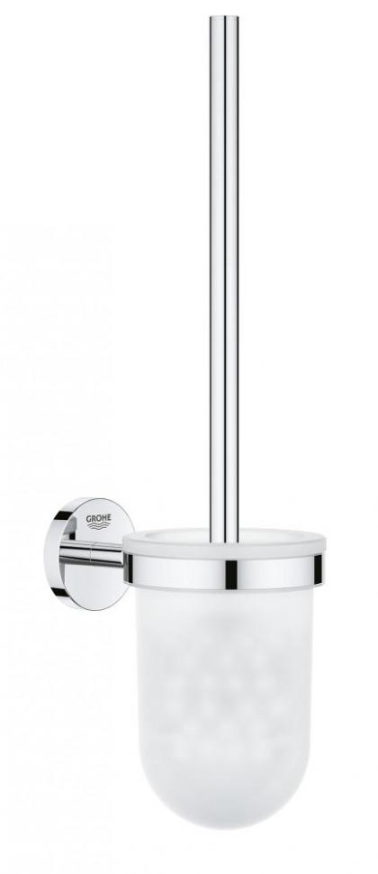 Фото - Туалетный ёршик в комплекте Grohe BauCosmopolitan 40463001 туалетный ёршик grohe essentials в комплекте хром 40374001