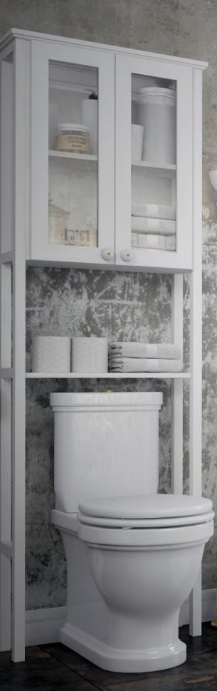 Пенал напольный белый матовый Corozo Таормина SD-00000368 alfa 18539