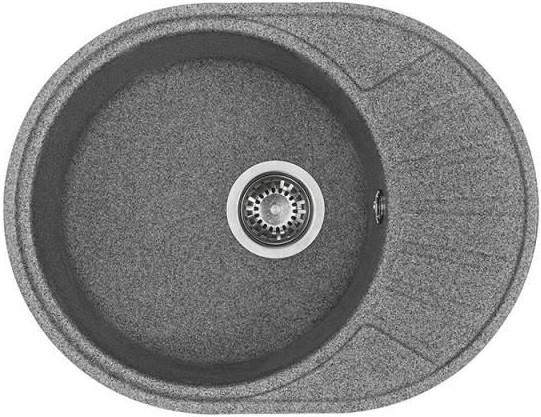 Кухонная мойка серый Акватон Чезана 1A711232CS230 стоимость