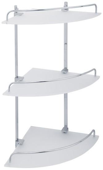 Полка угловая 25х25 см Veragio Gifortes Cromo VR.GFT-9033.CR цена и фото