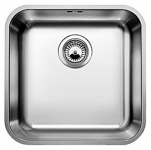 Фото - Кухонная мойка Blanco Supra 450-U полированная сталь 518204 кухонная мойка blanco supra 450 u 518203