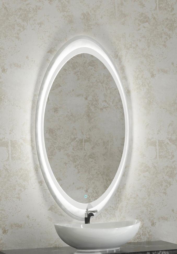 Зеркало 64х120 см Velvex Olivia zkOLI.65-21 зеркало д ванной velvex otto с подсветкой 100 см
