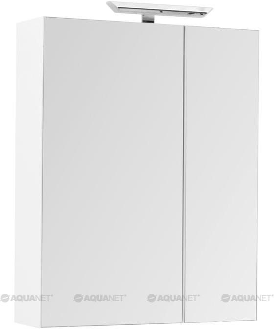 Зеркальный шкаф 70х87,3 см L белый Aquanet 00202088 stripe contrast split pants