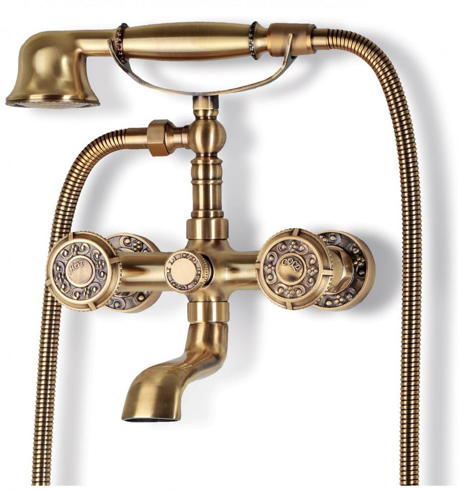 Смеситель для ванны Bronze De Luxe Royal 10119