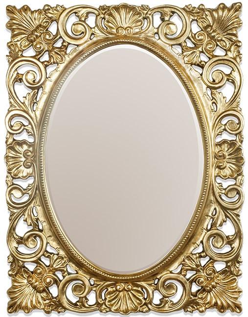 Зеркало 73х95 см золото Tiffany World TW01939oro