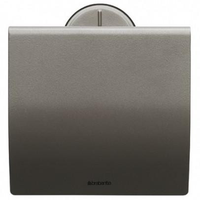 Держатель туалетной бумаги Brabantia Profile 483363 держатель для туалетной бумаги brabantia profile цвет черный 483400