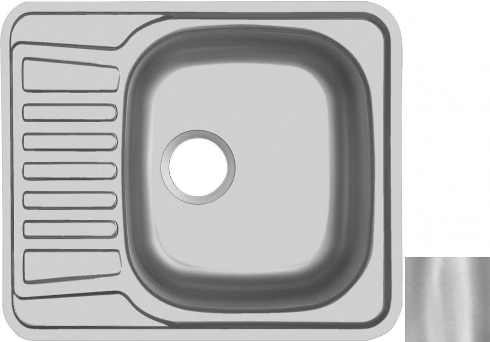 Кухонная мойка матовая сталь Ukinox Комфорт COM580.488 -GT5K 1R ukinox grp 693 503 15gt8p 1r