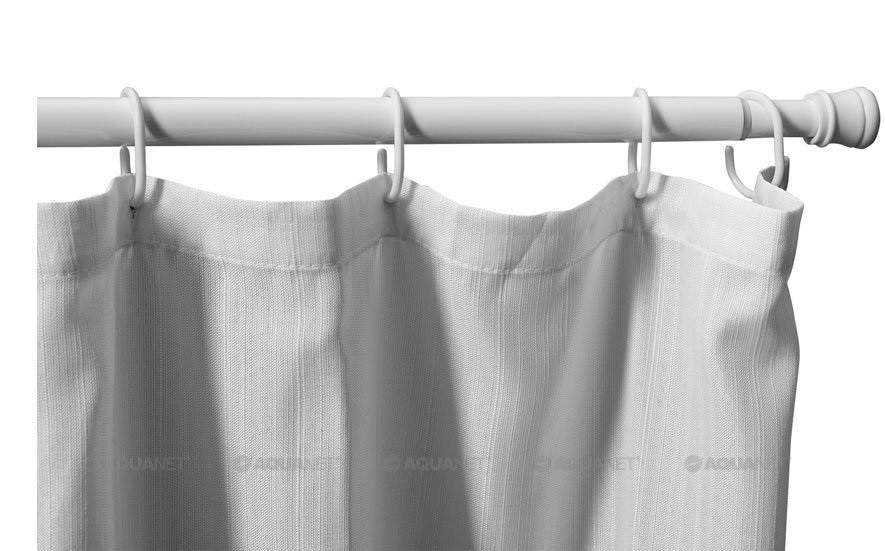 Карниз для ванной комнаты 110-200 см Aquanet SR0020A карниз раздвижной duschy 110 200 см цвет белый