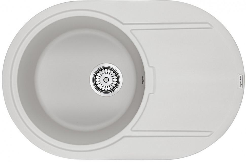 Кухонная мойка Paulmark Fittich белый PM317650-WH