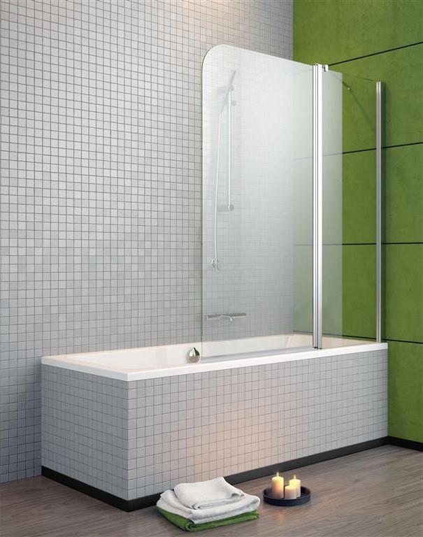 Шторка для ванны Radaway EOS II PND 130 R прозрачное