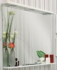 Зеркало 120х90 см белый Sanflor Рио H0000000096