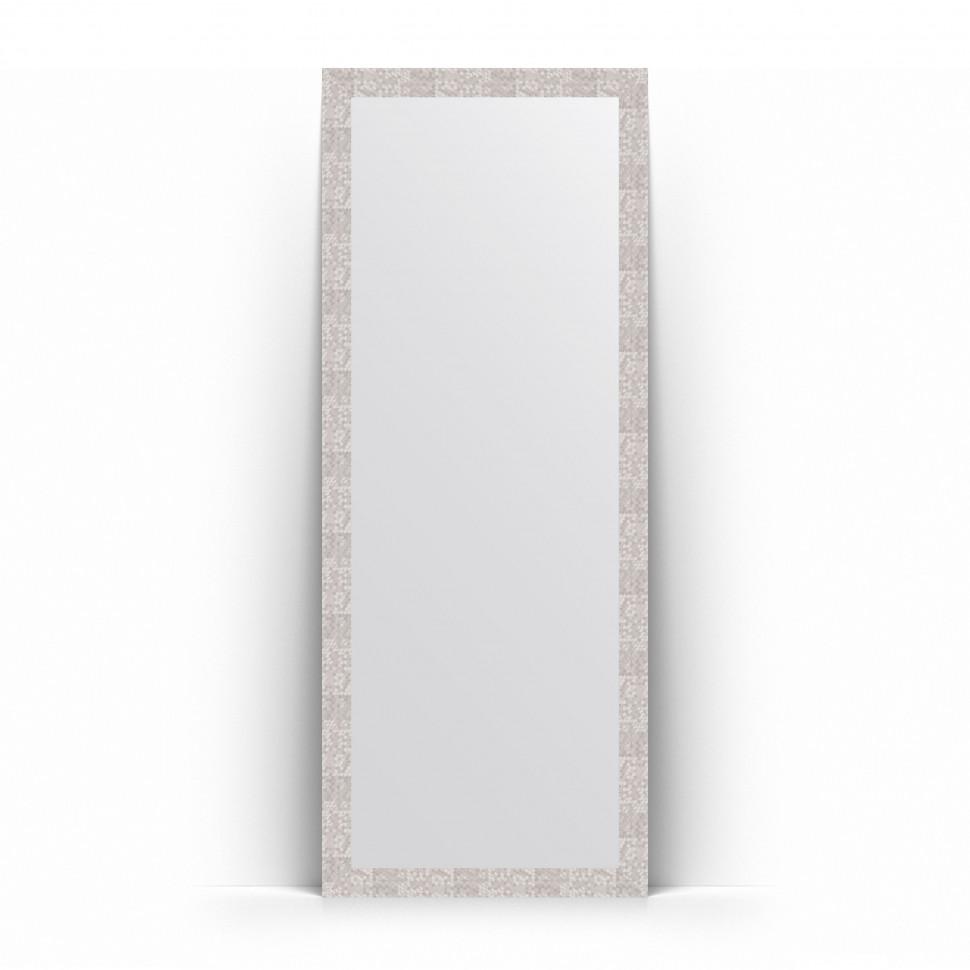 Зеркало напольное 78х197 см соты алюминий Evoform Definite Floor BY 6005