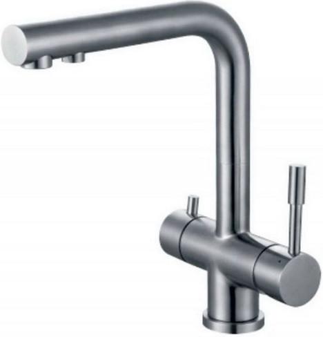 Смеситель для кухни с подключением к фильтру Zorg Inox SZR-1068 смеситель для раковины zorg inox premio u szr 103611