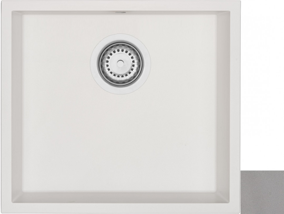 Кухонная мойка крома Longran Geos GES457.406 - 49