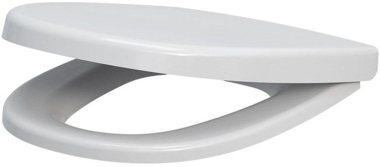 Сиденье для унитаза с микролифтом Cersanit Parva DS-PARVA-DL чаша унитаза подвесная cersanit parva clean on mz parva con dl с горизонтальным выпуском