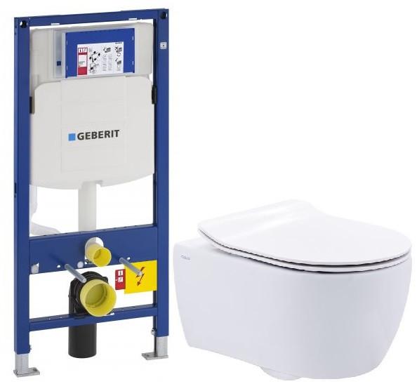 Комплект подвесной унитаз SSWW NC2038 + система инсталляции Geberit 111.300.00.5 комплект подвесной унитаз ssww ct2038vblack система инсталляции geberit 111 300 00 5