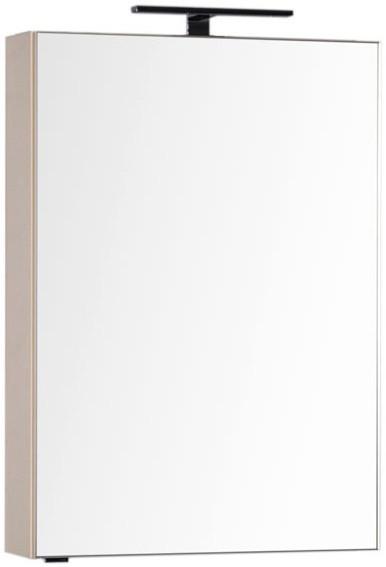 Зеркальный шкаф 59,6х85 см бежевый Aquanet Эвора 00184015