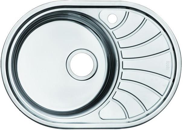 Кухонная мойка полированная сталь IDDIS Suno SUN65PLI77 цена