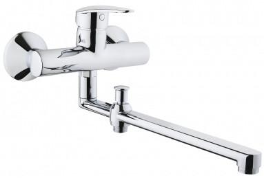Смеситель для ванны Vitra Dynamic S A42038EXP vitra смесительvitra dynamic s a42086exp для кухонной мойки