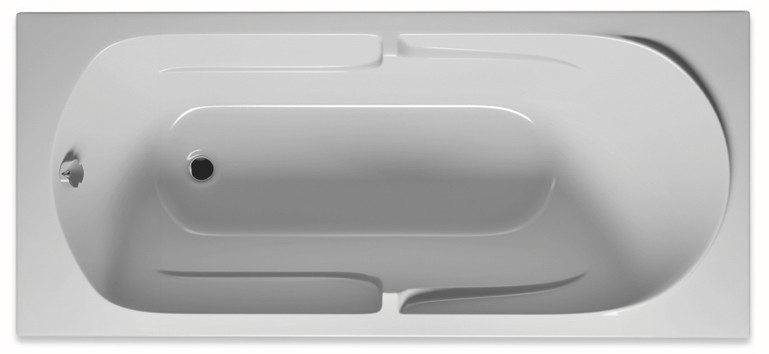 Акриловая ванна 180х80 см Riho Future BC3100500000000 акриловая ванна riho future 170x75x49