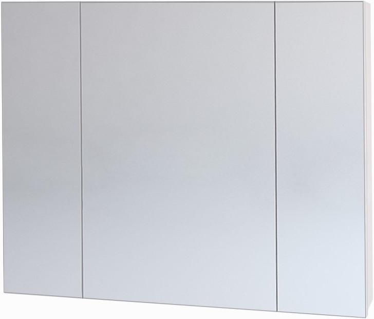 Зеркальный шкаф 90х70 см белый Dreja.eco Almi 99.9012 шкаф зеркальный topline rio 90х70 см