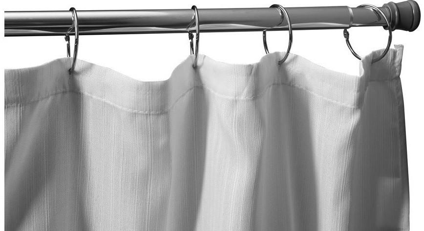 Карниз для ванной комнаты 110-200 см Aquanet SR0020B карниз раздвижной duschy 110 200 см цвет белый